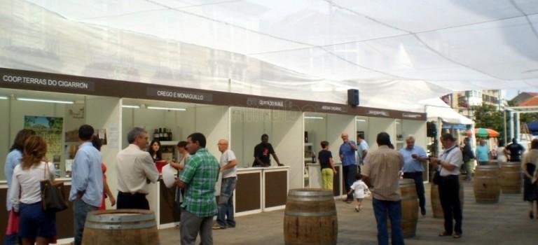 Feria del vino de Monterrei en Verín