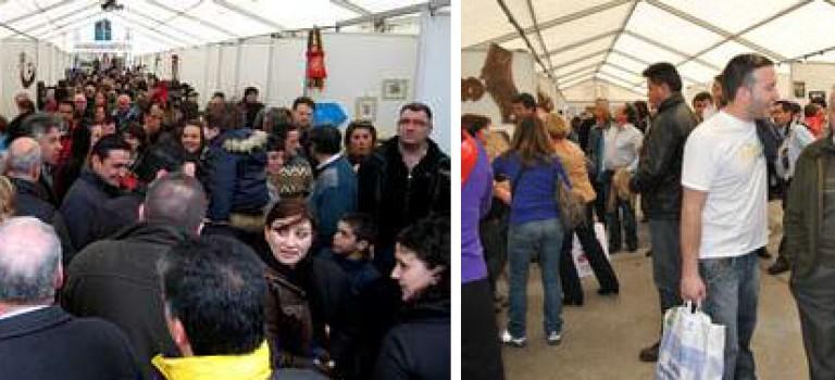Feria de Artesanía y Productos de la zona de Triacastela