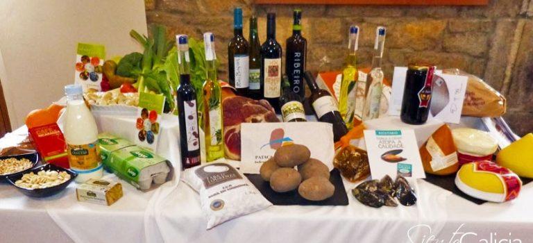 Feria de productos gallegos de Sanxenxo