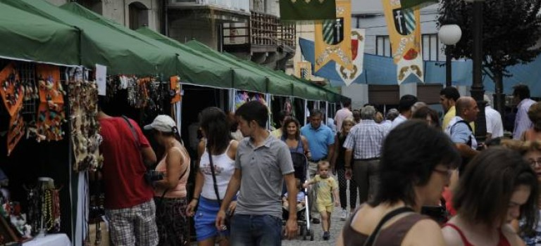 Feria de artesanía de Cortegada