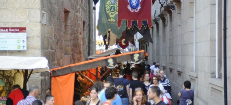 Mercado medieval de Ourense