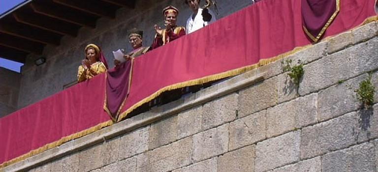 Fiesta medieval y gastronómica del lechón en Maceda