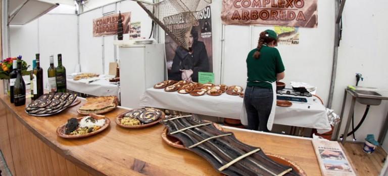 Feria de la lamprea de Arbo